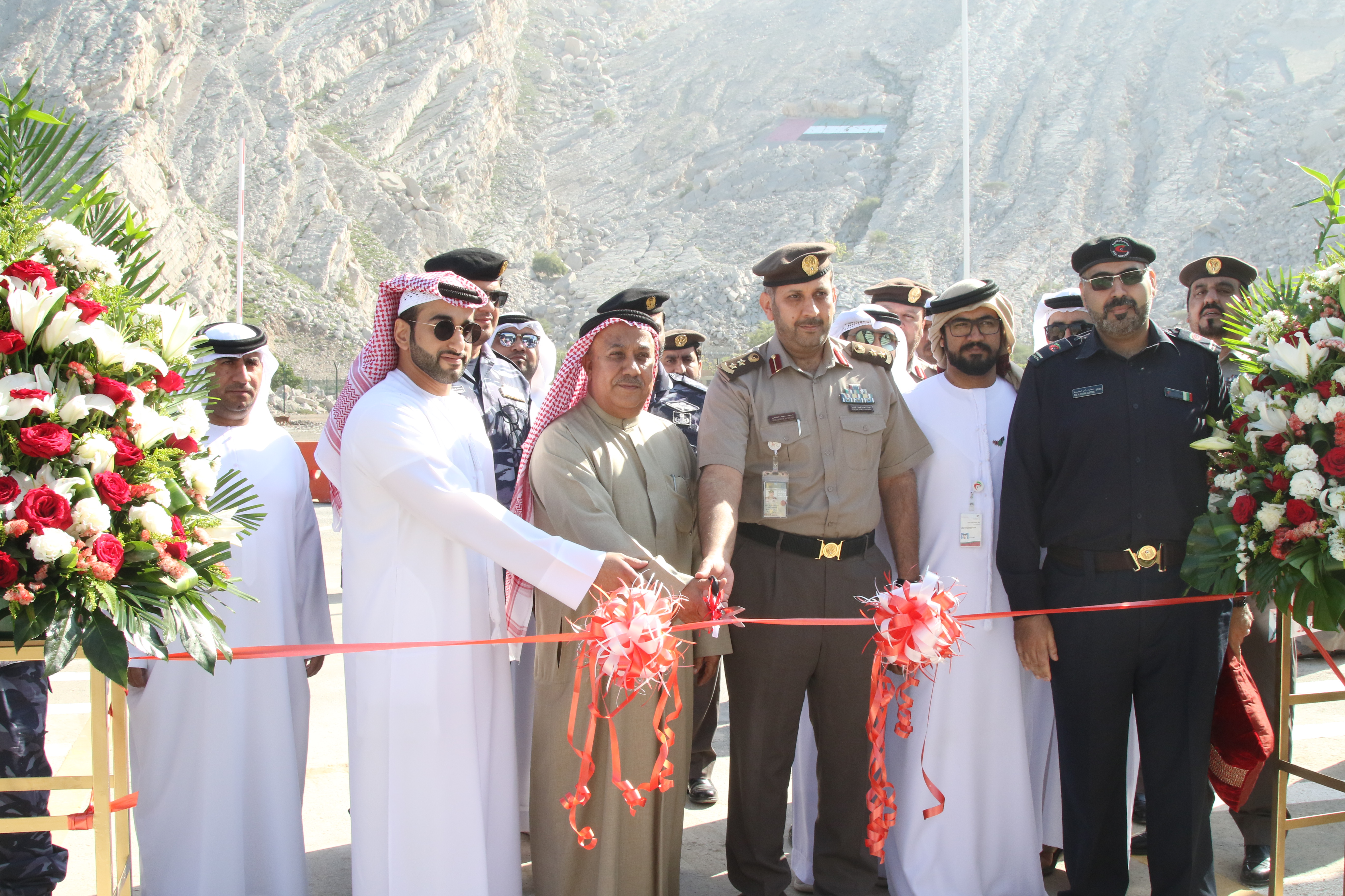 RAK Customs inaugurates the new light and heavy vehicles scanner at Al Dara Customs in conjunction with the International Customs Day